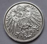 1 марка 1914 г. (J) Германия, серебро, фото №10