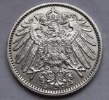 1 марка 1914 г. (J) Германия, серебро, фото №11