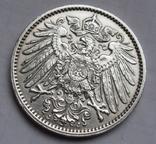 1 марка 1914 г. (J) Германия, серебро, фото №12