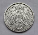 1 марка 1901 г. (F) Германия, серебро, фото №7