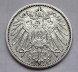 1 марка 1901 г. (F) Германия, серебро, фото №9