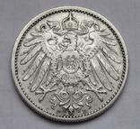 1 марка 1901 г. (F) Германия, серебро, фото №10