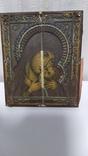 Икона. Божья Мать. 13,5 на 11 см., фото №2