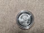 Монтсеррат - 2 доллара EC8 Изумрудный остров - 1 унция серебра, фото №5