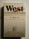 Сигареты WEST LIGHTS фото 1