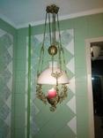 Потолочная керосиновая лампа., фото №3