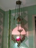 Потолочная керосиновая лампа., фото №4