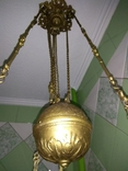 Потолочная керосиновая лампа., фото №10