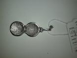 Подвеска ладанка серебро, фото №3