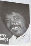 Percy Slebge c  атографом, фото №2