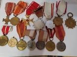 Набор из 14 наград Польша, фото №6