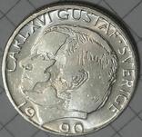 Швеция 1 крона 1990, фото №2
