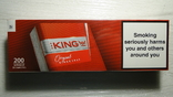 Блок сигарет KING Болгария 10 пачек.