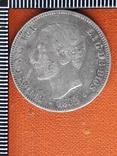 2 песеты, Испания, 1882 год, Альфонсо XII, серебро, 0.835, 10 грамм, фото №2
