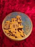 Жестяная банка Ласточкино гнездо К.Маркса Киев Лот 7, фото №3