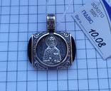 Ладанка св. Николай Чудотворец золото 585 проба, фото №2