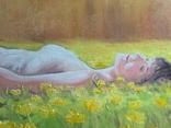 Картина, Насолода Весни, 50х60 см. Живопис на полотні, фото №9