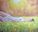Картина, Насолода Весни, 50х60 см. Живопис на полотні, фото №10