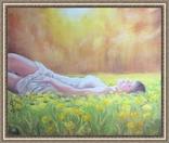 Картина, Насолода Весни, 50х60 см. Живопис на полотні, фото №11
