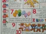 Таблица Вышивка для изучения Английского языка Рамка стекло, фото №3