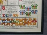 Таблица Вышивка для изучения Английского языка Рамка стекло, фото №8