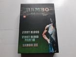RAMBO dvd trilogy Box Set, фото №2
