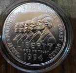 США 1 доллар 1994 Мемориал женщинам на военной службе., фото №2