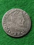 Трояк Рига, 1592року. Срiбло, (Аg) 2.32 грамма., фото №3