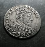 Трояк Рига, 1592року. Срiбло, (Аg) 2.32 грамма., фото №5