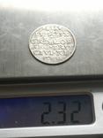 Трояк Рига, 1592року. Срiбло, (Аg) 2.32 грамма., фото №8