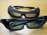 Активные 3D очки . 2 штуки. Samsung TDG BR-250, фото №9