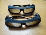 Активные 3D очки . 2 штуки. Samsung TDG BR-250, фото №11