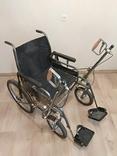 Инвалидная коляска с ручным приводом дорожная ДККС- 2-03-46, фото №2