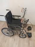 Инвалидная коляска с ручным приводом дорожная ДККС- 2-03-46, фото №4