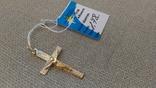 Крестик золото 585., фото №3