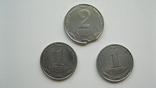"""Монеты 1 копейка 2004 год 1.1 ВА + монета 2 копейки с браком """"выкус"""", фото №2"""