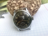 Военные WW2 Glycine наручные часы немецкая армия, фото №6