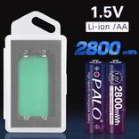 Пальчиковые аккумуляторы АА на 1,5 вольта - 4 шт., фото №2