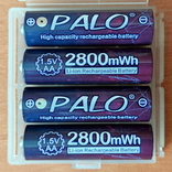 Пальчиковые аккумуляторы АА на 1,5 вольта - 4 шт., фото №3