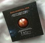 В наличии / Марс сферическая монета 1 Oz. 5 Барбадос 2021 SPHERICAL MARS 3D Planet 1 унция, фото №4