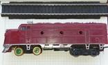 Тепловоз на железной дороге, фото №9