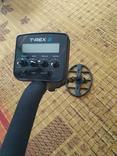 Металлоискатель T-REX 2 Turbo. Металошукач, металлодетектор с VDI, фото №3