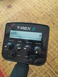 Металлоискатель T-REX 2 Turbo. Металошукач, металлодетектор с VDI, фото №4