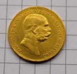 10 корон Австро-Угорщини-1909року., фото №2
