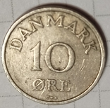 Дания 10 оре 1956, фото №2