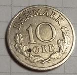 Дания 10 оре 1964, фото №2