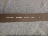 Ремень кожаный сделано в Италии, фото №4