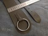 Ремень кожаный сделано в Италии, фото №6