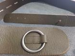 Ремень кожаный сделано в Италии, фото №7