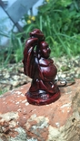 Брелок Маленький Фэншуй Будда Монах держит чашу над головой, фото №4